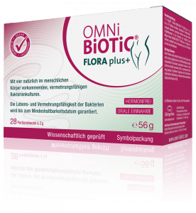OMNi-BiOTiC® FLORA plus+ - Endlich… Scheidenflora OK!