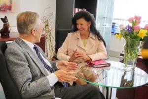 Mag. Anita Frauwallner interviewt Univ.-Prof. Dr. Peter Holzer