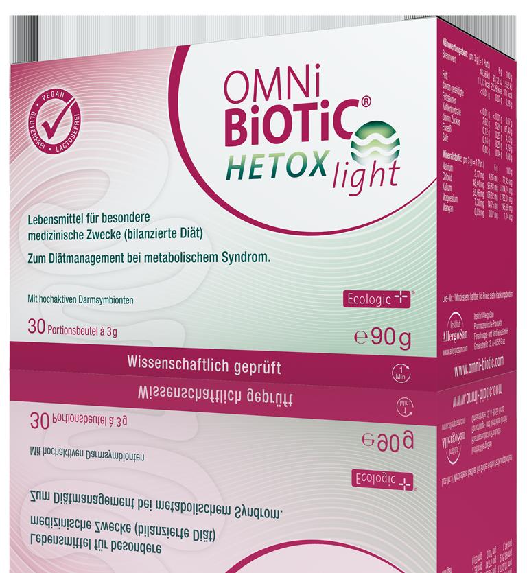 OMNi-BiOTiC® HETOX light: Miese Blutwerte?