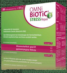 """Stress hat negative Auswirkungen auf die Verdauungsorgane. OMNi-BiOTiC® STRESS Repair - das richtige """"Nervenfutter"""" für Stressphasen."""