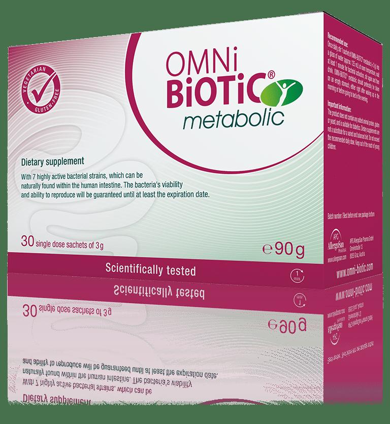 OMNi-BiOTiC® metabolic Balance in the intestine