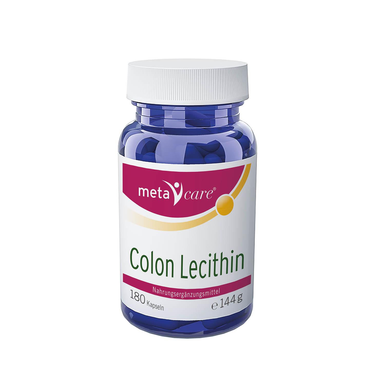 metacare® Colon Lecithin enthält wertvolles Lecithin, das Bestandteil unserer Zellmembranen ist und einen zentralen Baustein der Darmschleimhaut darstellt.