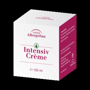 Allergosan Intensiv Creme Speziell entwickelt zur Pflege der Haut bei Schuppenflechte und bei schuppender, trockener Neurodermitis