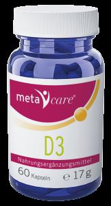 metacare® D3 Power für die lichtarme Zeit