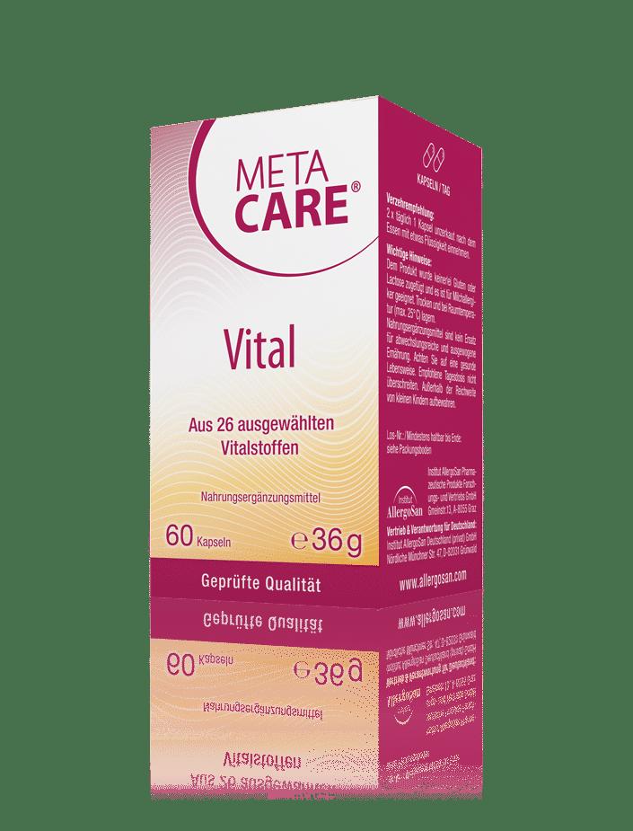 META-CARE® Vital: Die Vitalstoff-Versorgung
